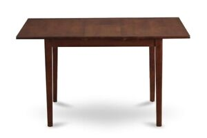 East West Furniture Rectangular Table