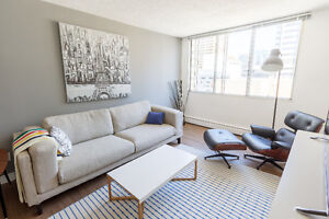 Beautiful 1 BDRM Suites - Downtown Calgary Terrace Gardens