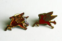 Pair of Vintage Pegasus Pins. Approx 1 inch wide