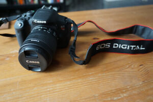 Canon Rebel T5i with 18-55mm Lens