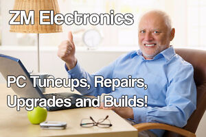 **ZM Electronics** - PC Repairs, Tuneups, Upgrades, and Builds!