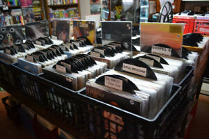 LP's + CD's + Tapes @ VINTAGE & VINYL RECORDS STORE in LaSalle