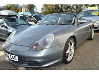Porsche Boxster S 3.2 auto 2002 Tiptronic S, 97K MILES, FULL S/HISTORY, NEW MOT,