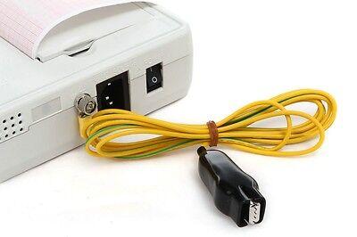 NEW DIGITAL 3-CHANNEL ELECTROCARDIOGRAPH ECG EKG INTERPRETATION MEDICAL HOSPITAL CE