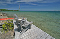 Waterfront, West Georgian Bay Cottage /Home For Sale