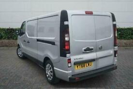 2018 Vauxhall Vivaro 2900 1.6CDTI 120PS Sportive H1 Van Manual Van Diesel Manual