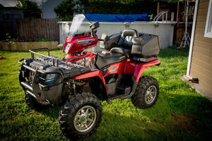 4 roues Polaris Sportsman Touring 800 2009 full equip