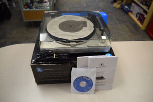 Innovative Technology ITUT-201 USB Turntable w/ Software