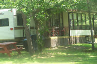 Furnished Cottage/Trailer for rent at Round Lake