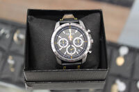 Seiko FC Barcelona Chronograph Black Leather Men's Watch Winnipeg Manitoba Preview