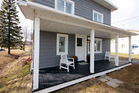 Century home nicely renovated on large lot 35 mins to Montreal