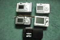 FOR SALE  4 CAMERA/S  >1  MINI RECORDER SONY  2 DPEED.
