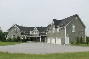 100 acre horse farm-double house - south durham region