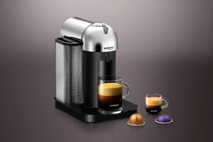 Nespresso  Chrome VertuoLine Machine
