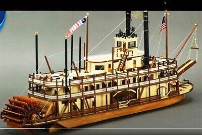 Artesania Latina - King Der Mississippi Schläger Dampfer - 1:80 Maßstab - T48