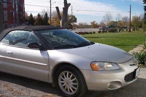 2003 Chrysler Sebring LXI Convertible Windsor Region Ontario image 2