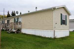 Three bedroom mobile home for sale in St Brieux!