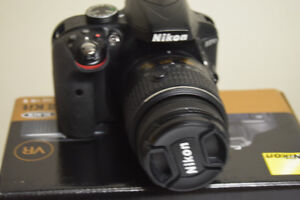 Nikon D3300  With 18-55 MM lens and a whole lot of other things