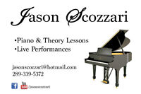 In-Home Piano Lessons in Hamilton, Ancaster, Dundas areas