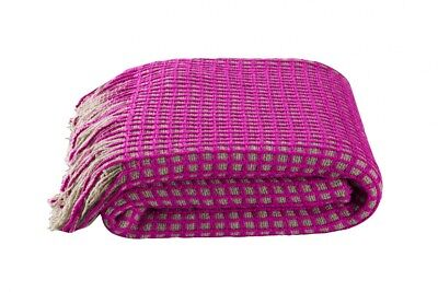KAS Huxton Pink Throw Rug 130 x 170cm RRP $69.95