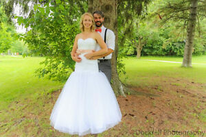 Wedding Dress - Mori Lee (Size 4 - Street Size 6) London Ontario image 5