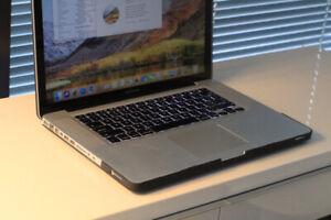 "MacBook Pro 15"" / Core i5 / Amazing software / Fast / SSD"