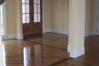 Wood Floor Sanding and Staining Sablage De Plancher 514-661-2598