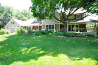 Stunning Renovated Country Home On 2 Acres In Carrying Place
