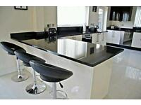 GRANITE/QUARTZ WORKTOPS FITTED £695 WEEKEND INSTALLATIONS AVAILABLE