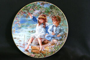 Hearts and Flowers Collector Plates - Sandra Kuck - Collection