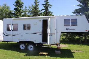 trade our 22 foot ultra light 5th wheel for motorhome