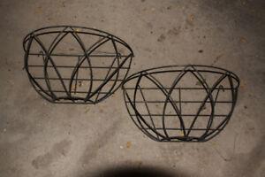 Wire Flower Baskets