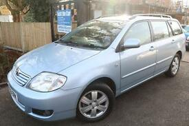 2005 (55) Toyota Corolla 1.6 VVT-I 5 Door Estate Blue Long MOT Full Service Hist