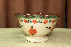 """Serving Bowl """"Syle Eyes"""" by Baum Bros.Tuscan Floral Collection Kingston Kingston Area image 2"""