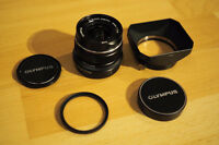 Olympus 12mm f2.0 Limited Edition Black - Made in Japan
