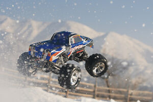 Traxxas RC 1/10 VXL 4WD  Stampede Monster Truck Windsor Region Ontario image 2