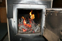 Scotty Wood Furnace from Kerr for sale incl. emergency heater
