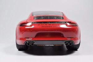 SCHUCO Porsche 911 Carrera GTS Red Diecast Model Car 1/18