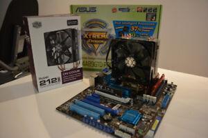 Combo carte mère Asus, processeur AMD quad core 3.6GHz, 4G DDR 3