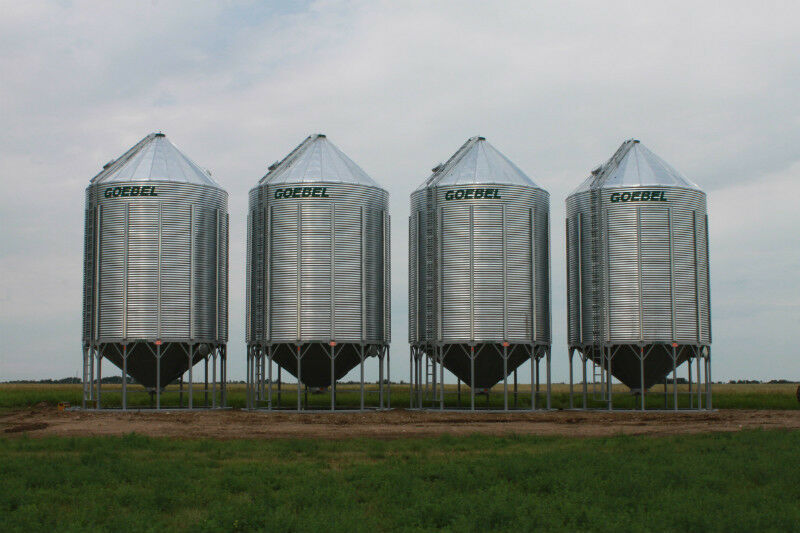 Grain Bins and Hopper Bottoms | Farming Equipment ...