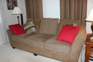 Sofa and Love Seat - Moving sale