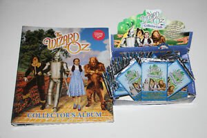 THE WIZARD OF OZ-S1-COLLECTION-CARTES/CARDS-ALBUM+72+DISPLAY BOX