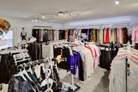 commerce de vêtements