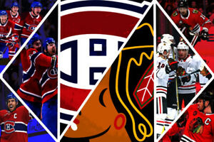 CANADIENS VS BLACKHAWKS SAMEDI 16 MARS
