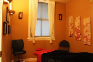 Two Massage & Therapy Clinic Rooms for Rent in Downtown Regina