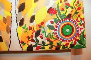 "Peinture Tableau Tableaux Toile Painting Paintings 16""x12"" OOAK! West Island Greater Montréal image 4"