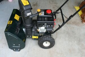 """24""""  208cc two stage gas snowblower"""