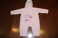 Baby Girl Bunting Bag/Suit (size 0-3 months)
