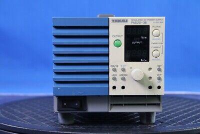 Kikusui Pas20-36 Power Supply Dc 1ch 20v36a 720w