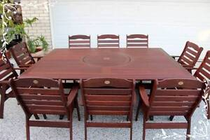KWILA - JARRAH timber outdoor dining furniture table and chairs Cairns Cairns City Preview